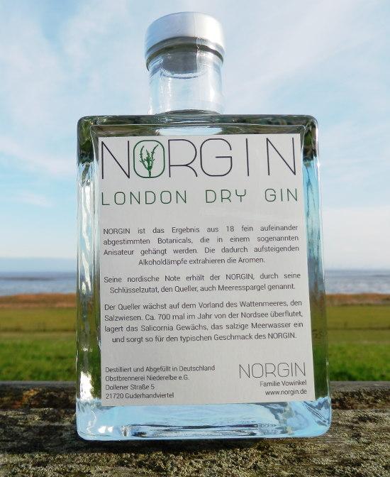 NORGIN London Dry Gin - Beschreibung