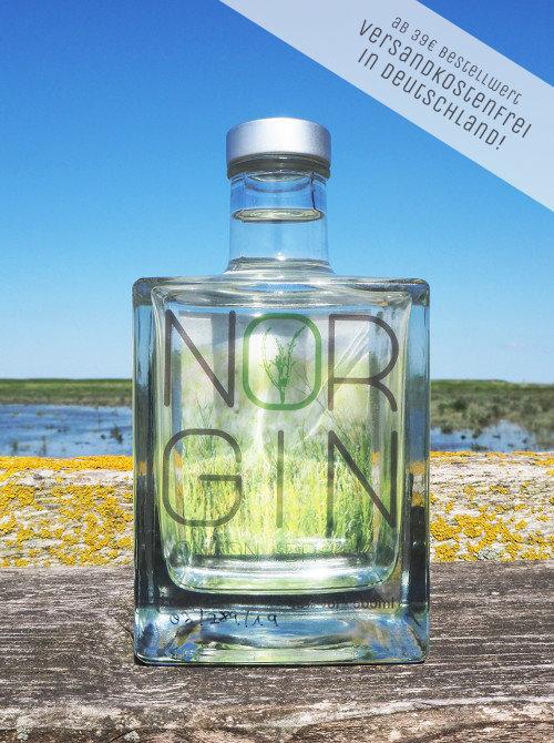 Das NORGIN Gin-Original ist jetzt versandkostenfrei ab 39 Euro!