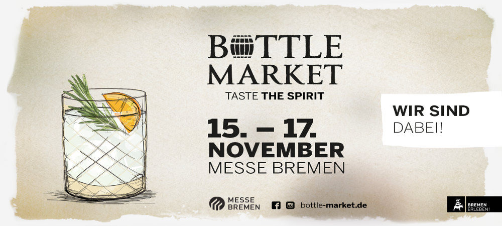 Wir sind beim Bottle Market in Bremen dabei!