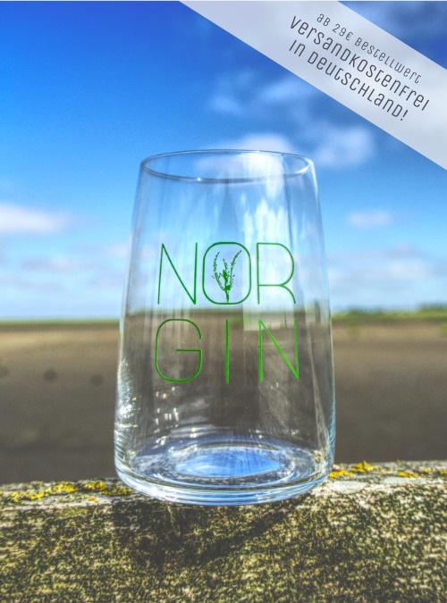 Longdrink Glas von NORGIN