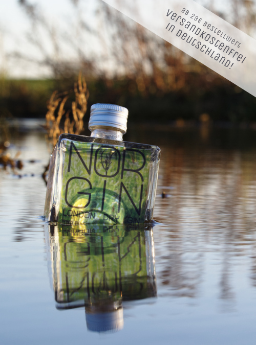NORGIN London Dry Gin Probiergröße