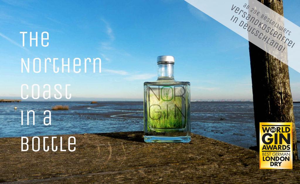 NORGIN - der beste London Dry Gin Deutschlands
